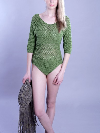 Hand Crochet Body Suit